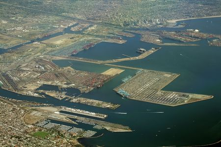 long beach port and cargo terminal