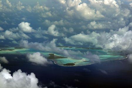 Tetiaroa Atoll in Französisch-Polynesien  Standard-Bild - 695427