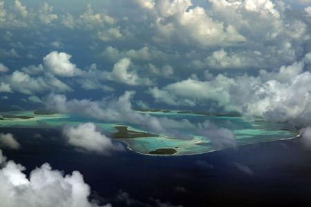 tetiaroa atoll in french polynesia