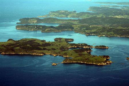 bay of Auckland, new zealand Stock Photo