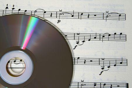 cd rom: cd rom and music score