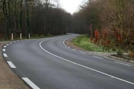 turn on a french road