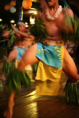 male exotic traditional tahitian dancers