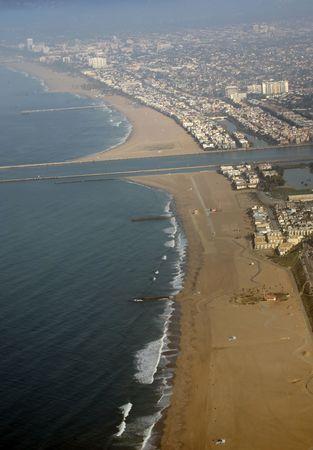 Marina del rey beach in Los angeles, California photo