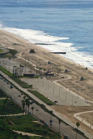 beach in California, los angeles area photo
