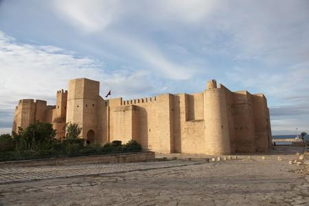 ancient fortress in Monastir, tunisia