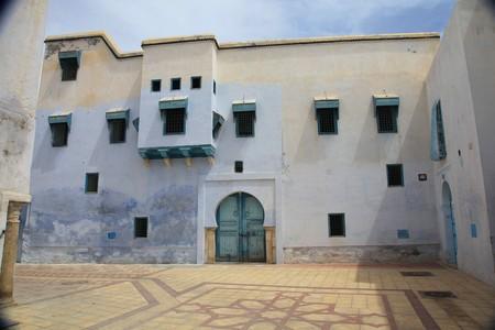 inside a tunisian medina city