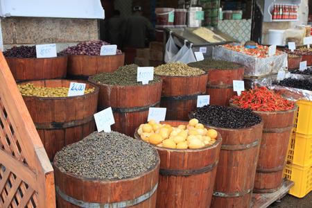 tunisian spice market in Africa