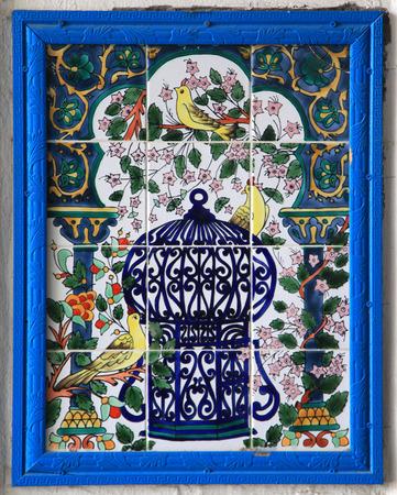 hand painted arabic handicrafts ceramic