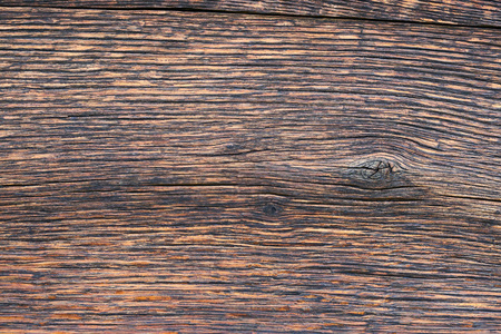 Closeup pattern of old oak wood for background or old wooden texture. Old oak for vintage table or furniture texture. More than a hundred years old wood. Natural pattern. Copy space. Banco de Imagens