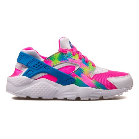 the best attitude 1d0af eb7f5 VIENNA, AUSTRIA - AUGUST 30, 2017: Nike Huarache Run Print pink,..
