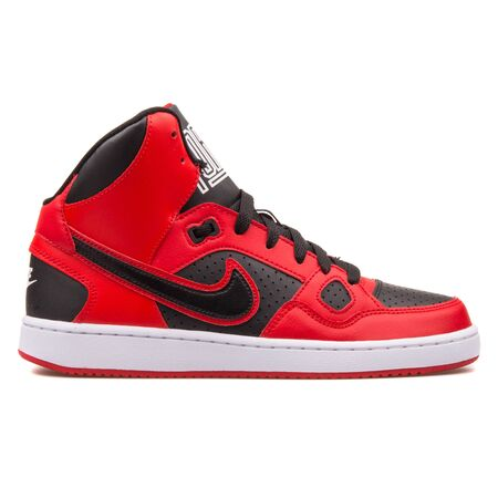 Vienna Austria August 10 2017 Nike Son Of Force Mid Red