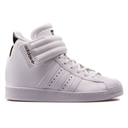 premium selection d0b04 742c8 VIENNA, AUSTRIA - AUGUST 25, 2017: Adidas Superstar UP Strap..