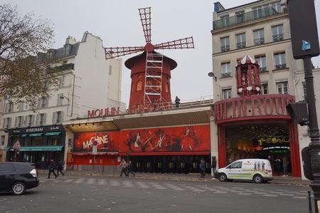 moulin: Moulin Rouge in Paris