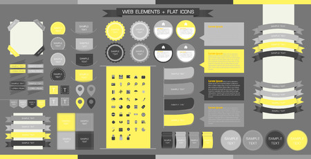 Web Elements Vetores