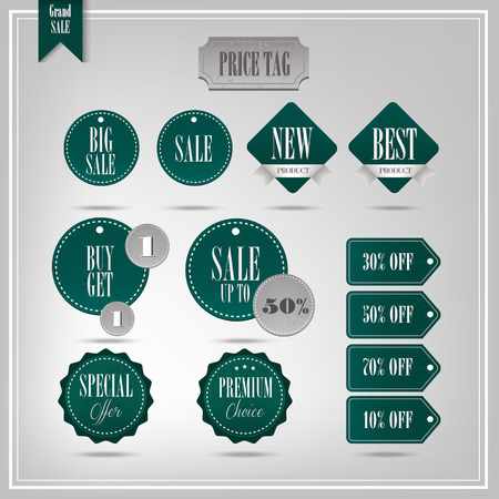 Set of vector badges and labels Vector