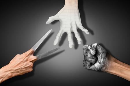 misconception: rock paper scissors
