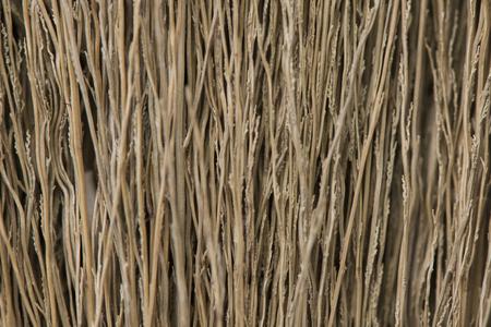 broom texture,Grunge texture of dry grass. Banco de Imagens