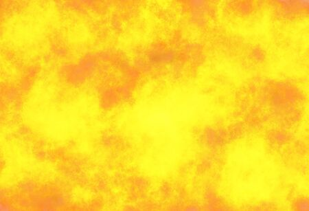 Yellow and hot flames wallpaper