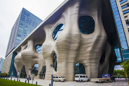 pudong: Himalaya Art Museum, Pudong, Shanghai Editorial