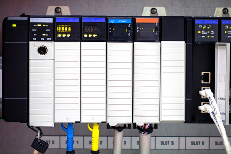 logica: PLC lógica programable Controler, ordenador PLC