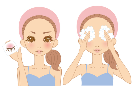 beautiful face: Women make up Remover