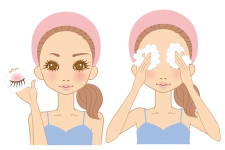 make up: Women make up Remover