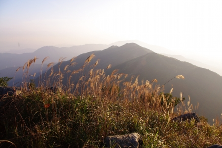 Sunsets at island s mountain of south china Stock Photo - 16951548