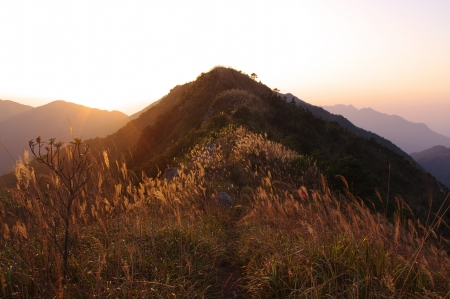 Sunsets at island s mountain of south china Stock Photo - 16951547