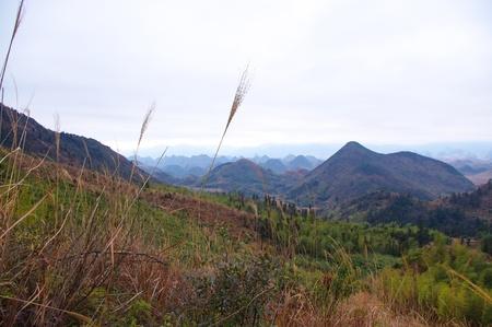 travel at karst landform of south chinese pro Guangdong