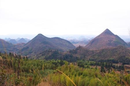 karst: Karst landform at south chinese pro Guangdong