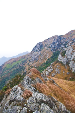 mountainside of the high mountain at Guangdong ridge of china Stock Photo - 16952536