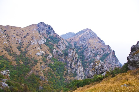 mountainside of the high mountain at Guangdong ridge of china Stock Photo - 16952693
