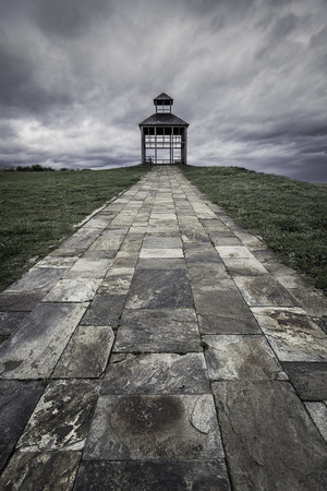 gazer: Ribadeo lighthouse in northern Spain