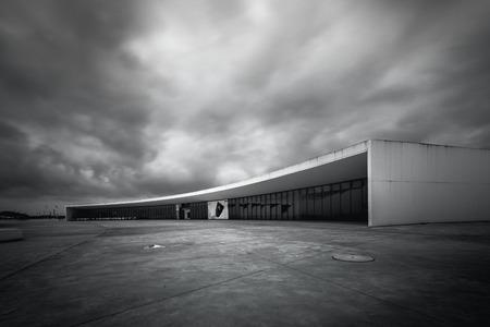Niemeyer in north of spain Aviles Asturias Foto de archivo