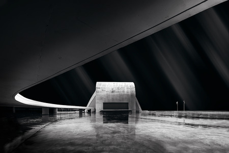 Niemeyer in Aviles ,Asturias . North of spain