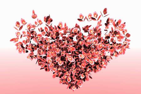 petal: Flower Petal Heart