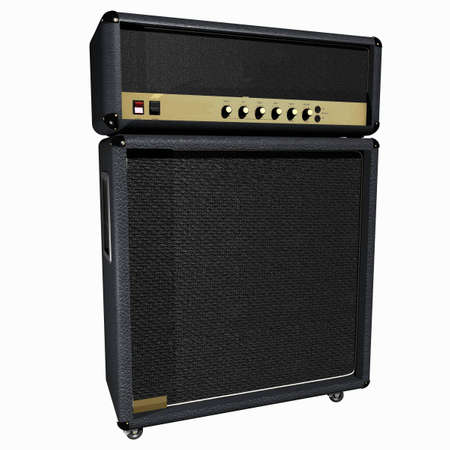 Guitar Amplifier Stock Photo - 864750