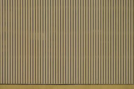 Yellow Building Wall Vertical Pattern