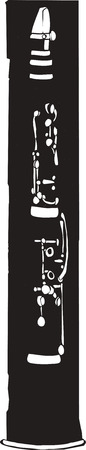 clarinet: Clarinet  in negative space in something of a Jazz Age style.
