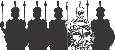 phalanx: Falange dei Greci