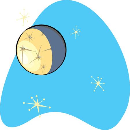 j�piter: Retro planeta Mercurio es parte de un conjunto completo de Planetas del Sistema Solar para la descarga. Vectores