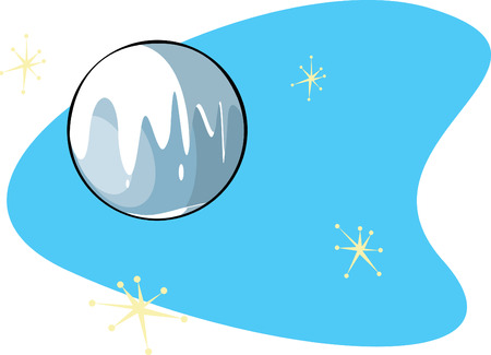 pluto: Retro Planet Pluto is part of a complete set of Solar System planet for download.