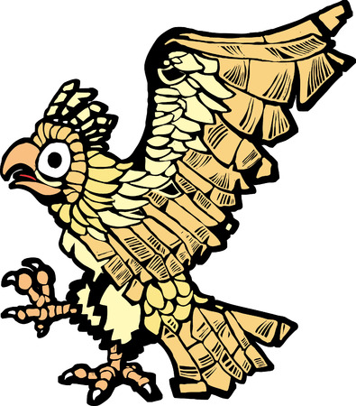 mesoamerican: Aztec eagle that symbolized the founding of mexico city.
