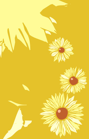 tabloid: Black Eyed Susan flowers in a tabloid layout.
