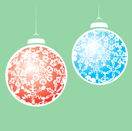 クリスマスオーナメント雪の結晶をモチーフにしたぶら下がっています。 写真素材 - 6042798