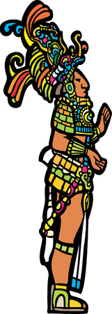 toltec: Mayan Lord adapted from Mayan Temple images.