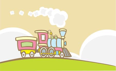 Retro Toy Train