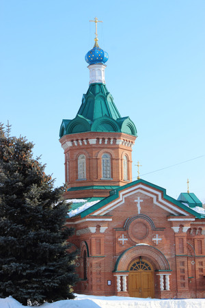 mother god: The Cathedral Of St. Nicholas. Russia