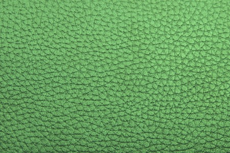 leatherette: green textured faux leather background old material Stock Photo